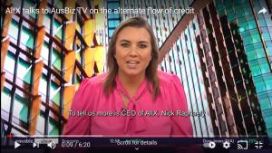 AltX talks to AusBiz TV